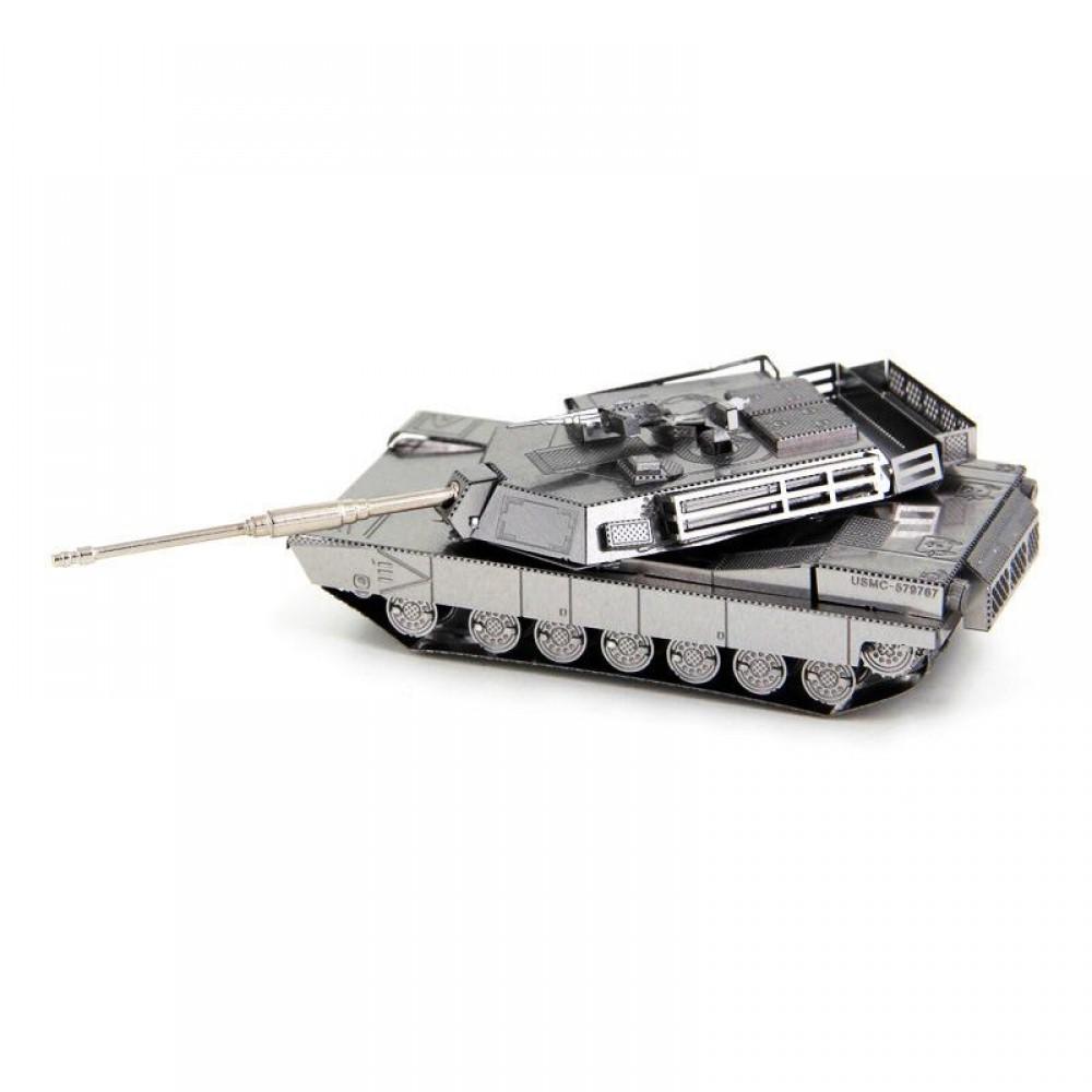 3D конструктор металлический Aipin M1 Abrams Tank