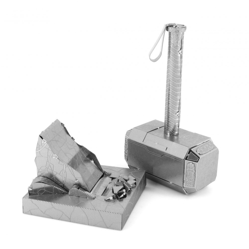 3D конструктор металлический Aipin Marvel Mjolnir Thor's Hammer