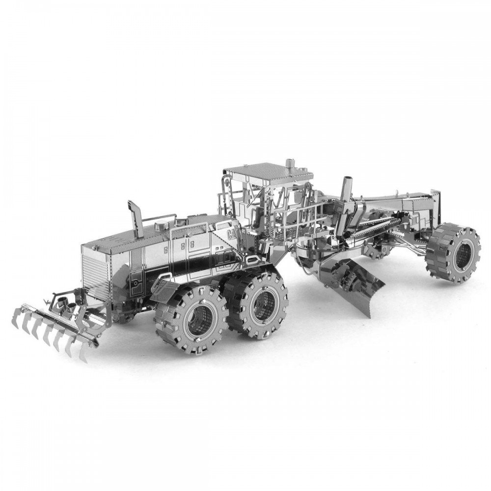 3D конструктор металлический Aipin Motor Grader Cat