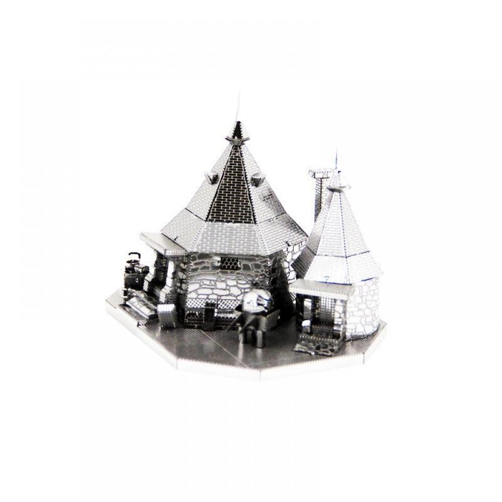 3D конструктор металлический Aipin Rubeus Hagrid Hut