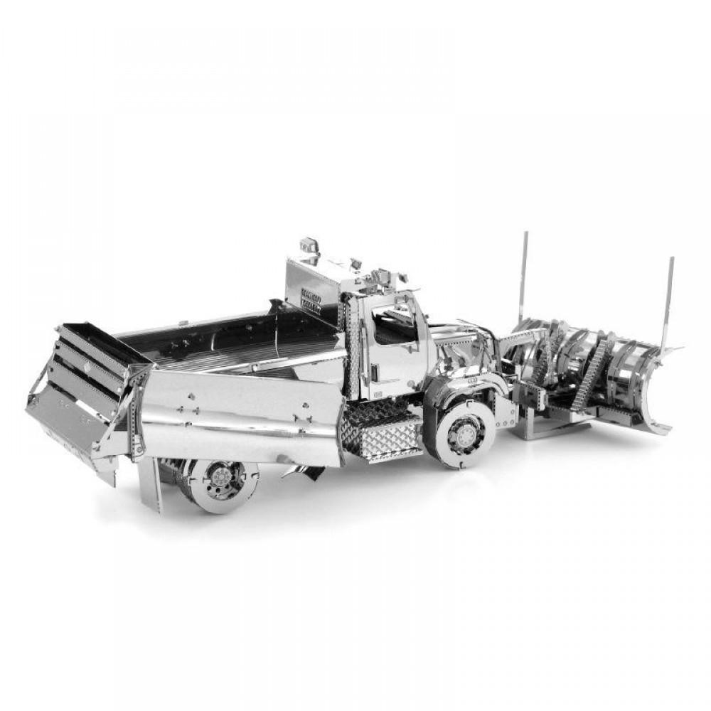 3D конструктор металлический Aipin Snow Plow 114SD