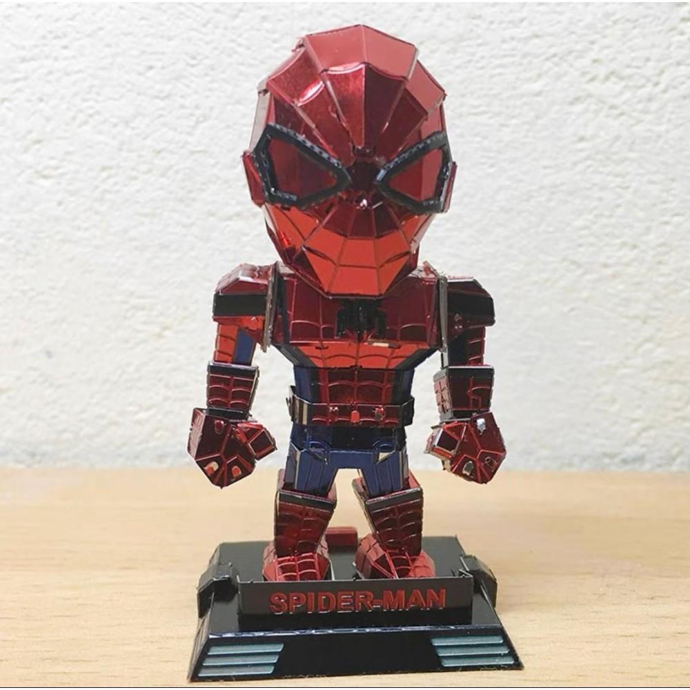 3D конструктор металлический Aipin SpiderMen