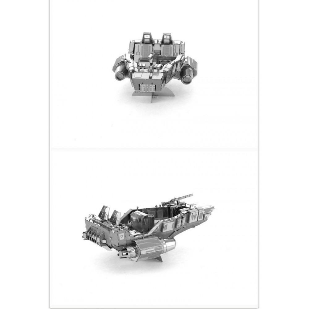 3D конструктор металлический Aipin Star Wars Force Awakens First Order Snowspeeder