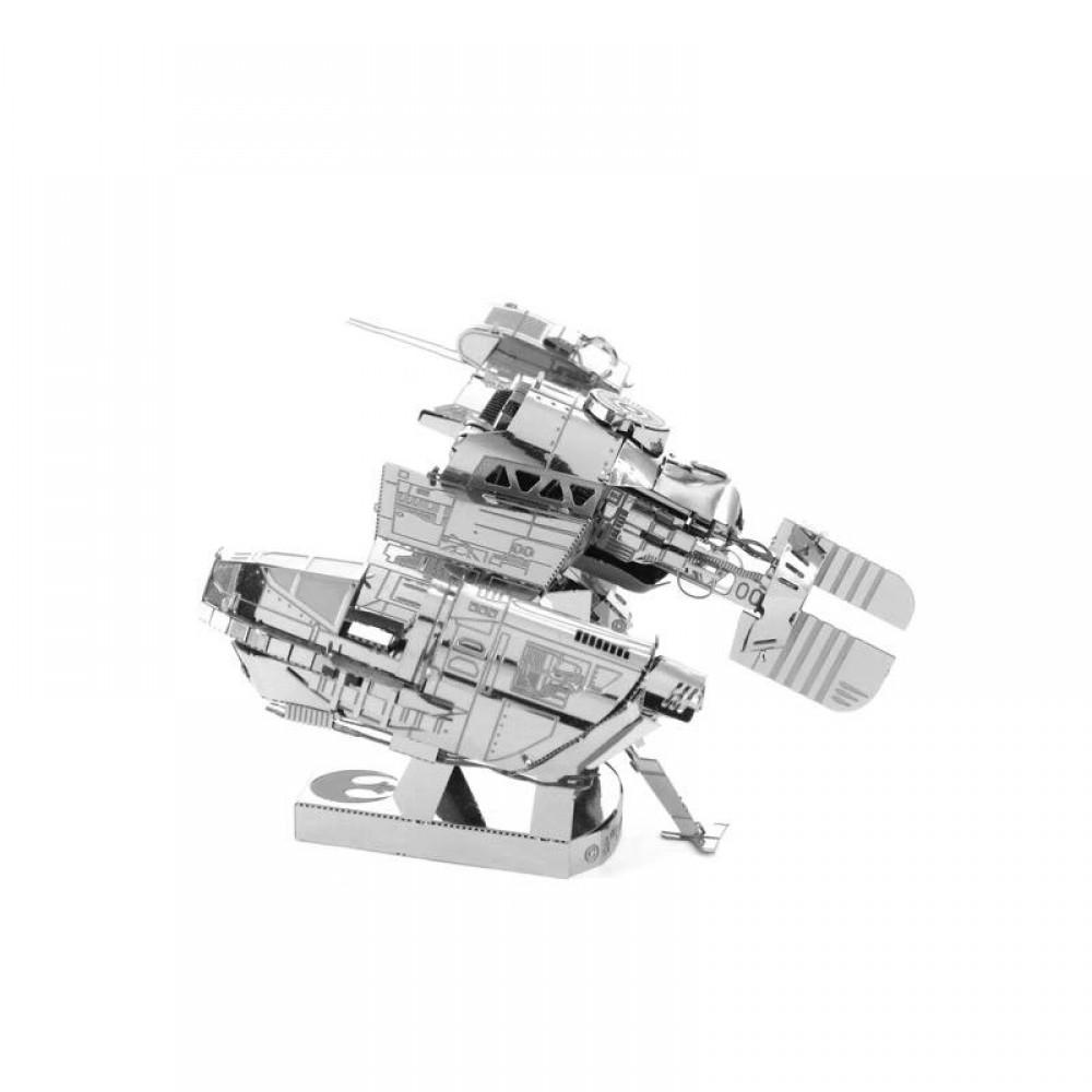 3D конструктор металлический MetalHead Star Wars The Last Jedi Resistance Ski Speeder