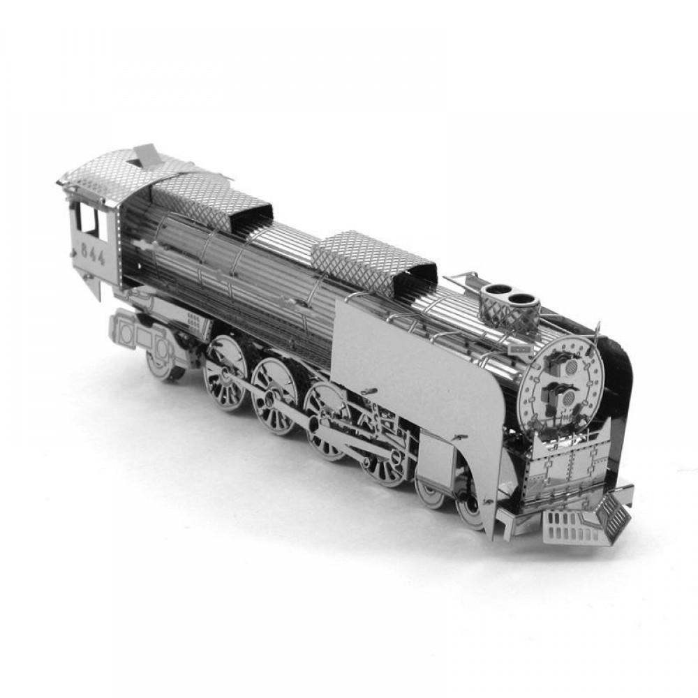 3D конструктор металлический Aipin Steam Locomotive