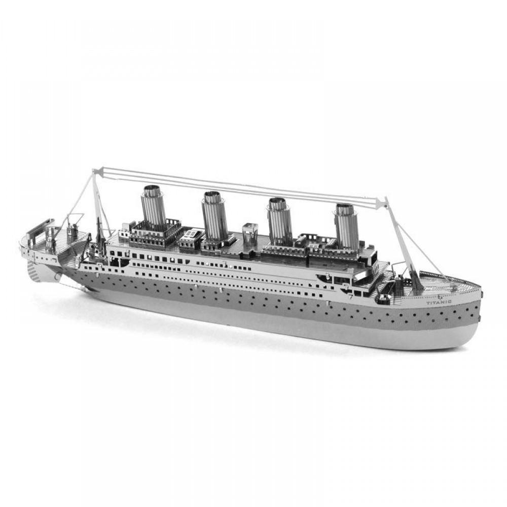 3D конструктор металлический Aipin Titanic