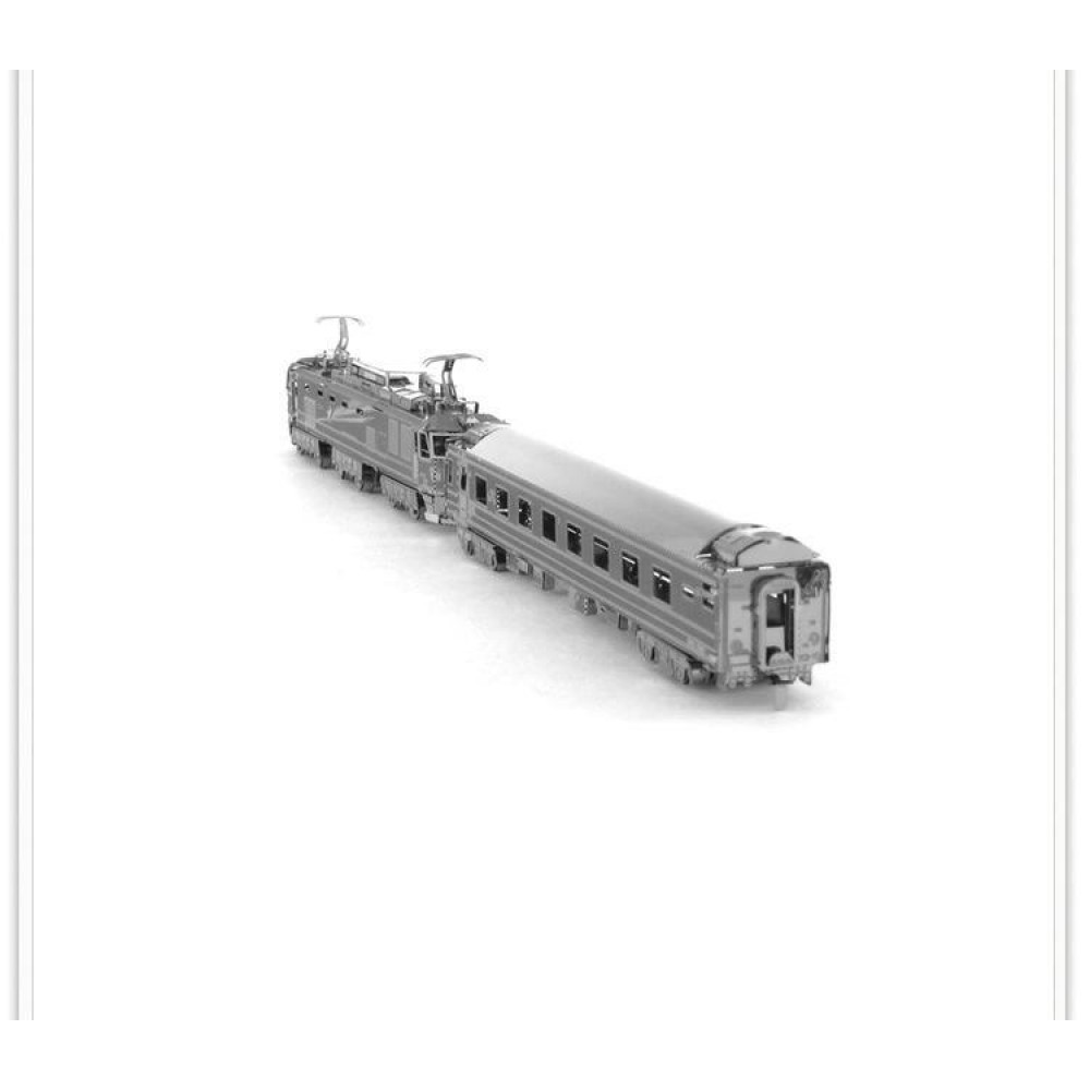3D конструктор металлический Aipin Train EF510