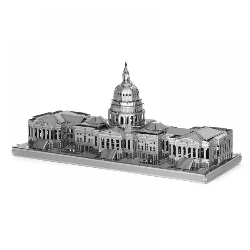3D конструктор металлический Aipin US Capitol