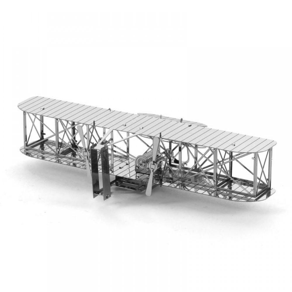 3D конструктор металлический Aipin Wright Brothers Airplane