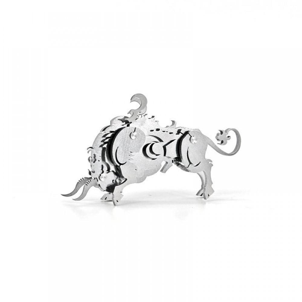 3D конструктор металлический Aipin Zodiac Sign Bull