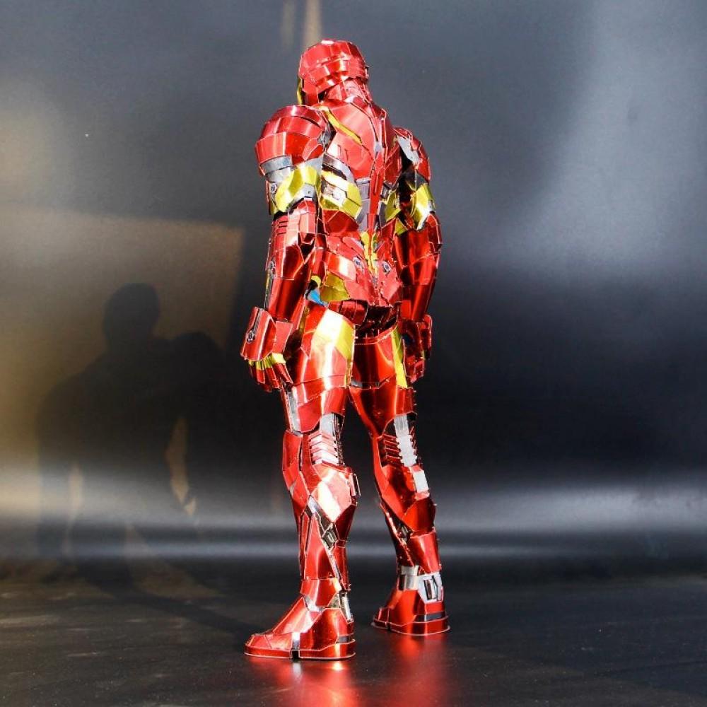 3D конструктор металлический Iron Man