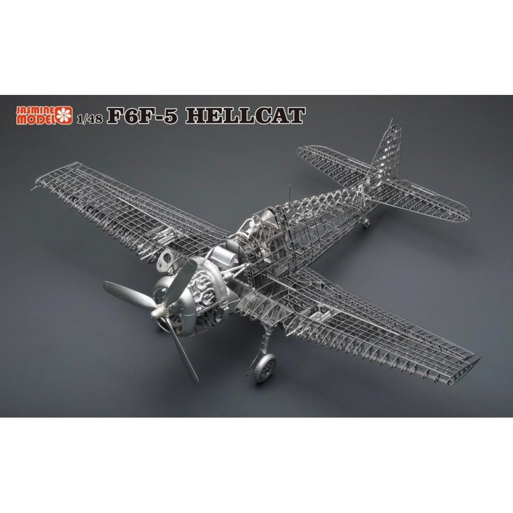 3D конструктор металлический Jasmine Model F6F-5 Hellcat