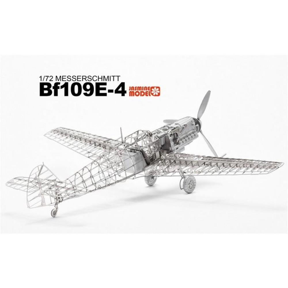 3D конструктор металлический Jasmine Model Messerschmitt Bf 109E-4