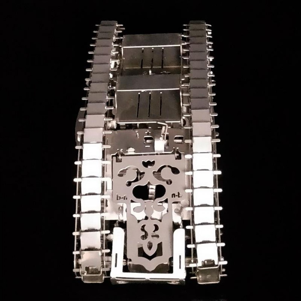 3D конструктор металлический Marvel Tank 2