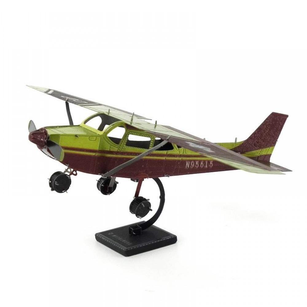 3D конструктор металлический MetalHead Airplane Senna Skyhawk KM041