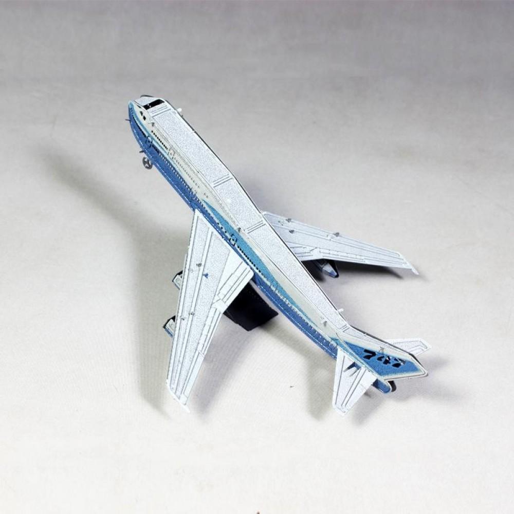 3D конструктор металлический MetalHead Boeing 747 KM021