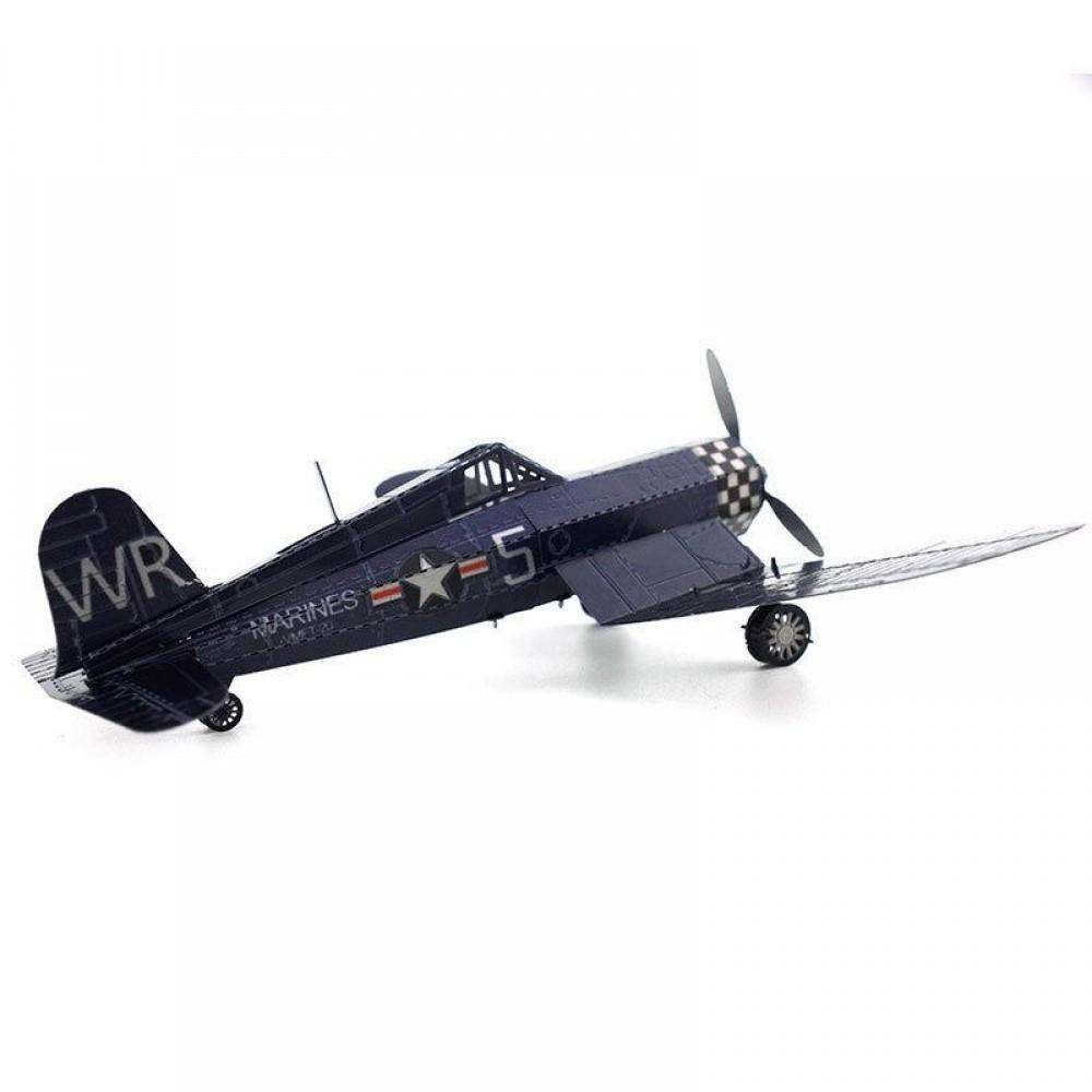 3D конструктор металлический MetalHead F4U Corsair