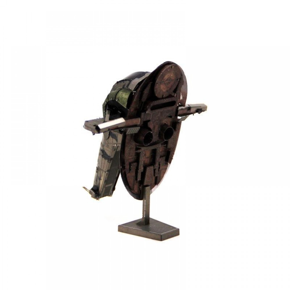 3D конструктор металлический MetalHead Fascinations Star Wars Slave I KM098