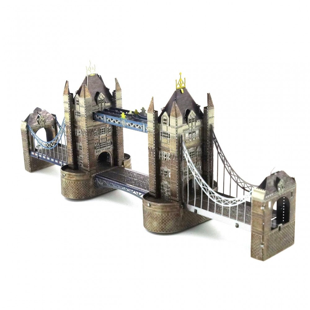 3D конструктор металлический MetalHead London Tower Bridge KM002