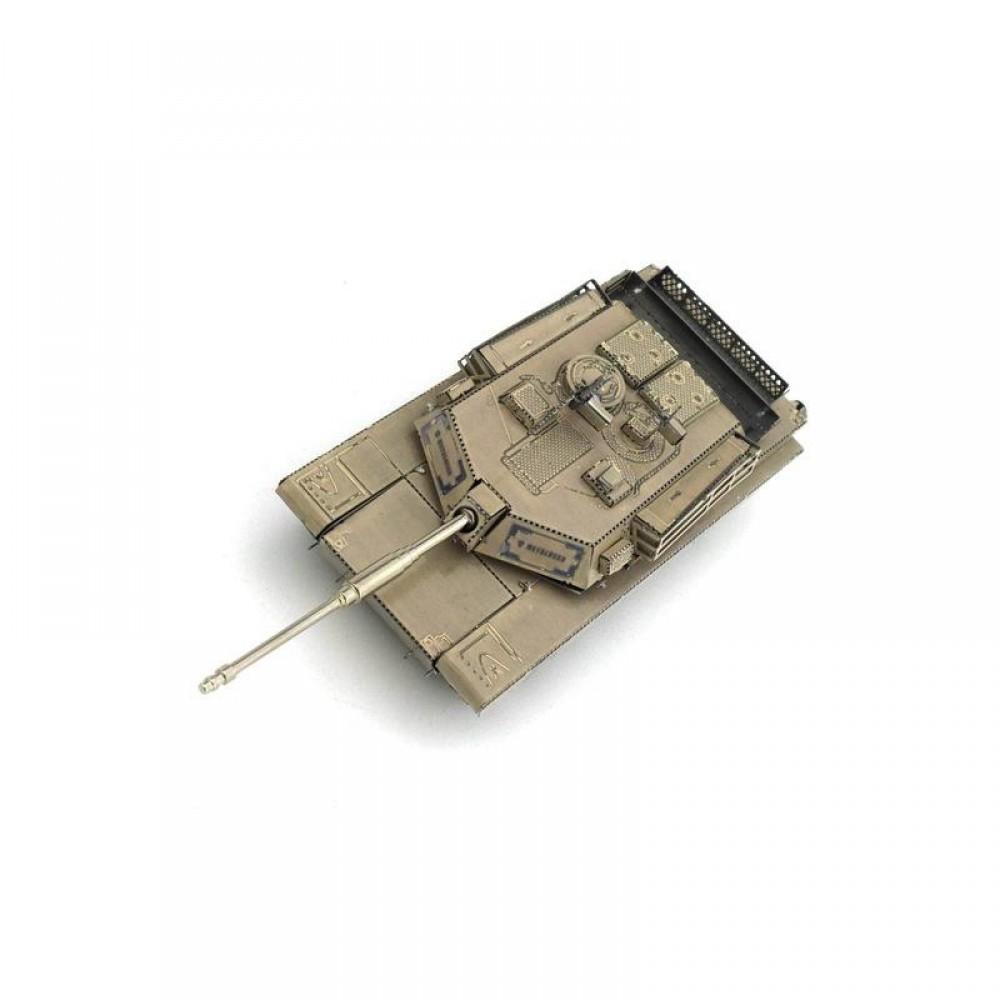 3D конструктор металлический MetalHead M1 Abrams Tank KMS015