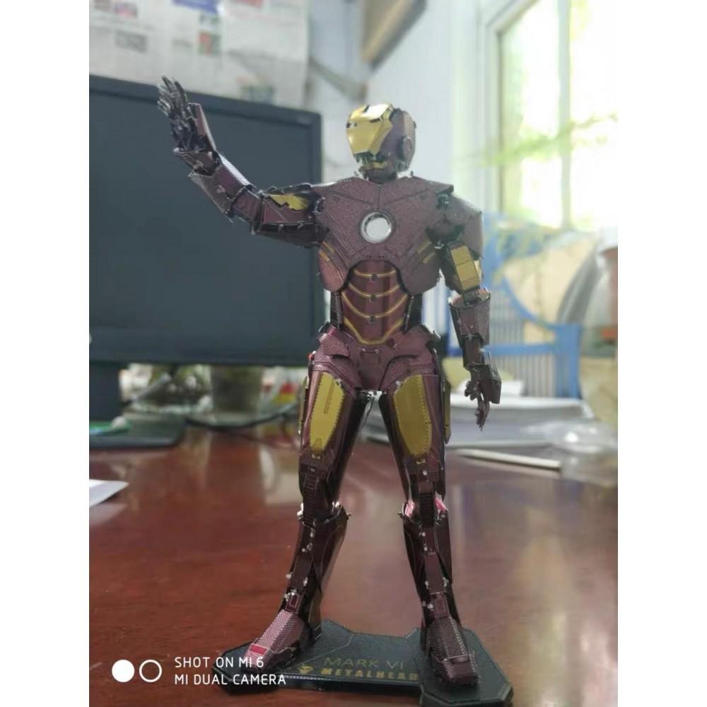 3D конструктор металлический MetalHead Marvel Mark VI KM091