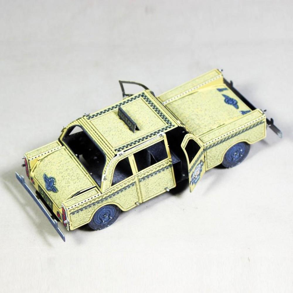 3D конструктор металлический MetalHead New York City Taxi KM023
