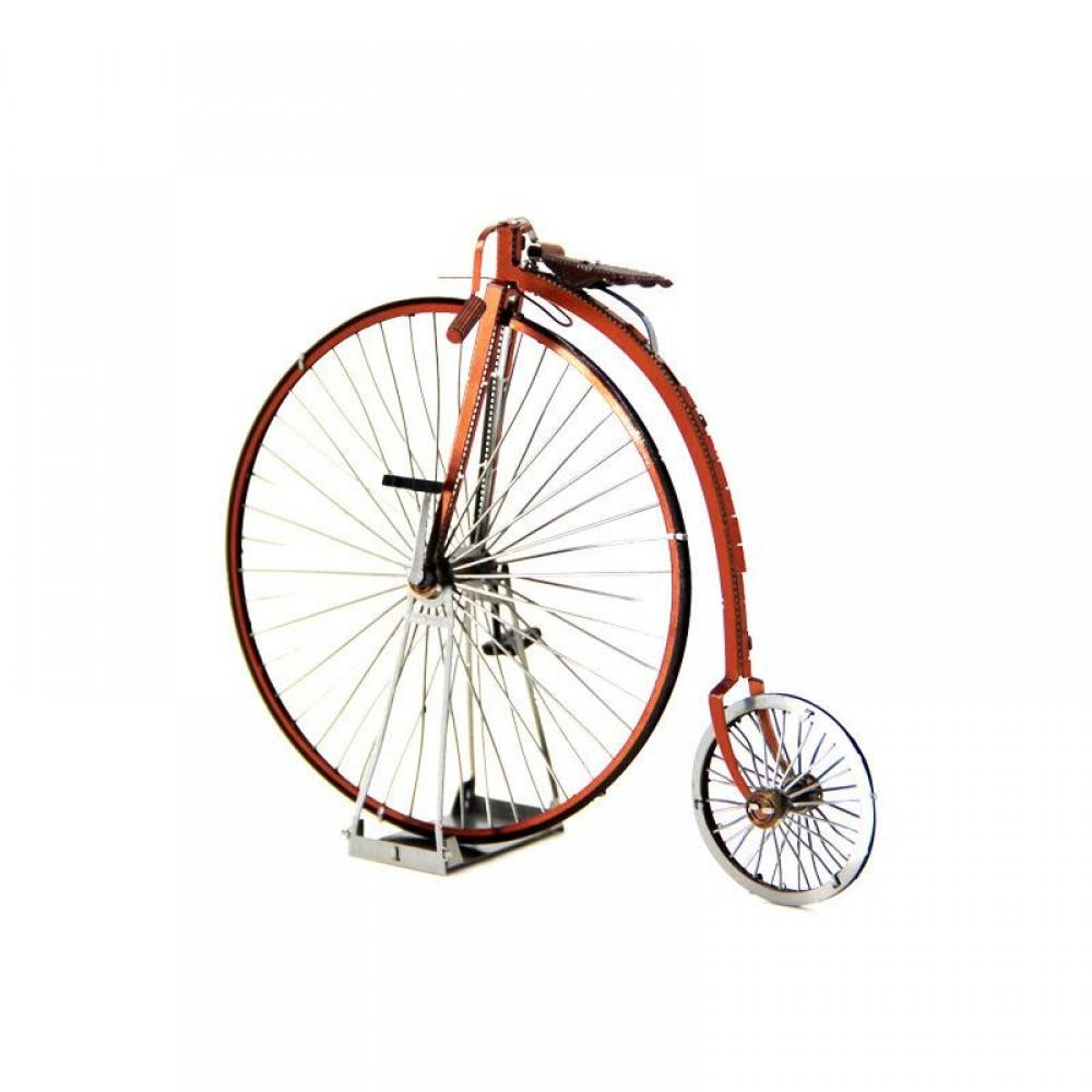 3D конструктор металлический MetalHead Penny Farthing - High Wheel Bicycle KM119