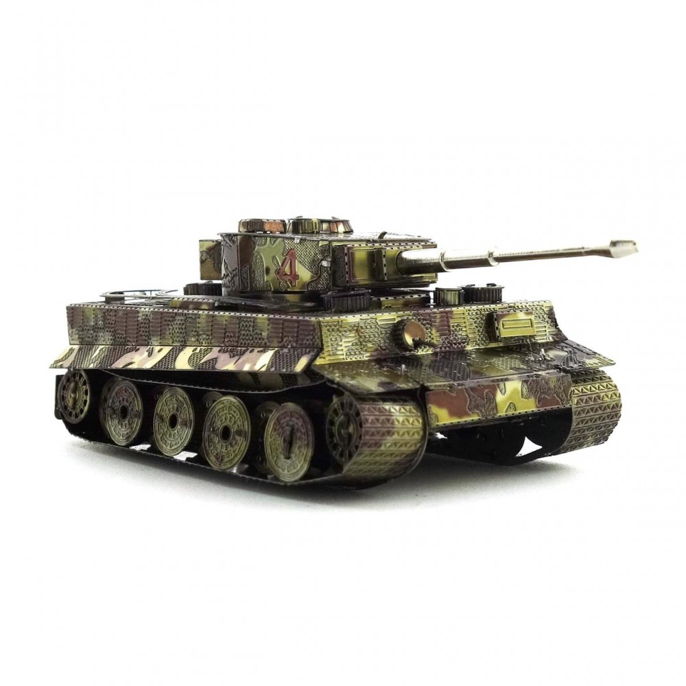 3D конструктор металлический MetalHead Sherman Tank KM003
