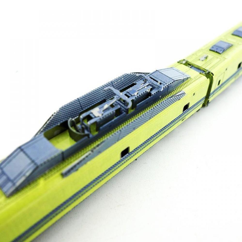 3D конструктор металлический MetalHead Shinkansen T4 KMS006