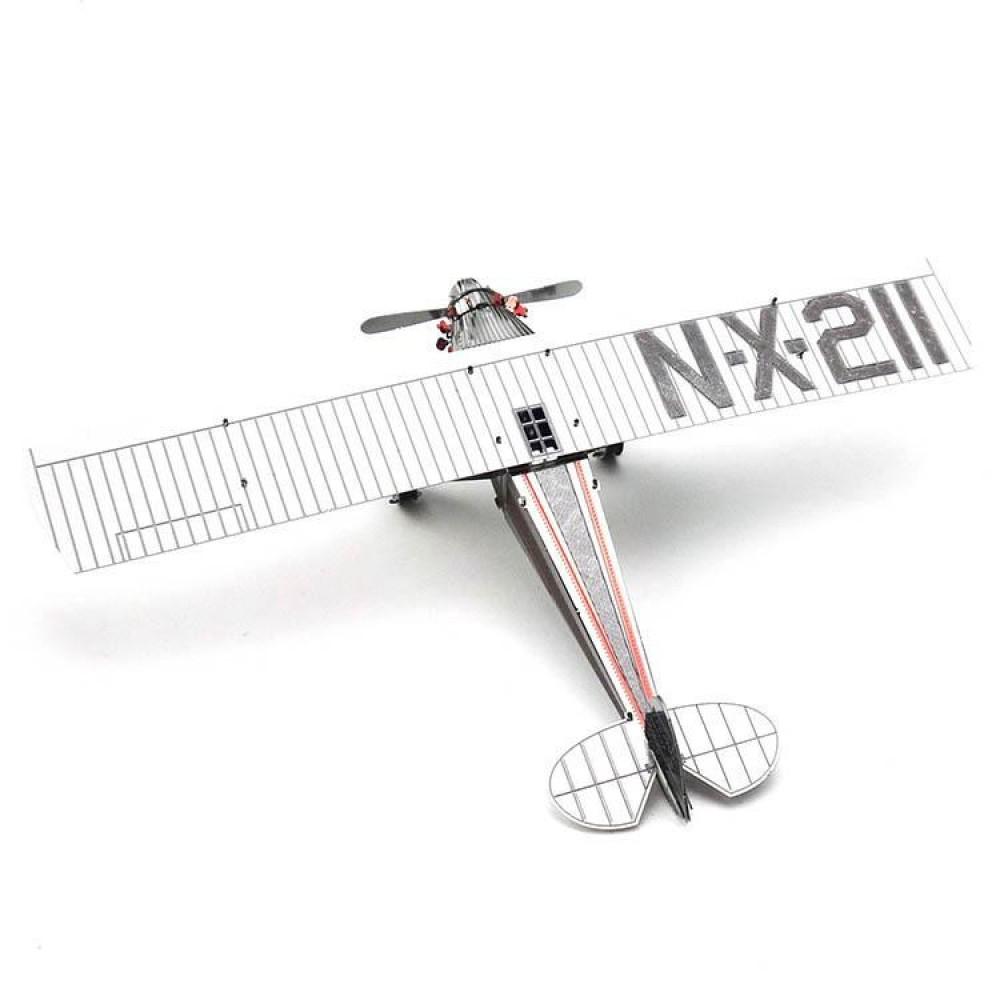 3D конструктор металлический MetalHead Spirit of Saint Louis Airplane KM040
