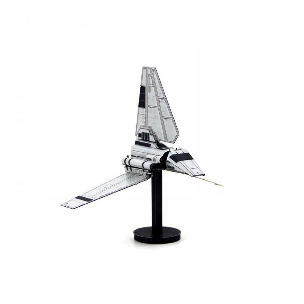 3D конструктор металлический MetalHead Star Wars Imperial Shuttle KM097