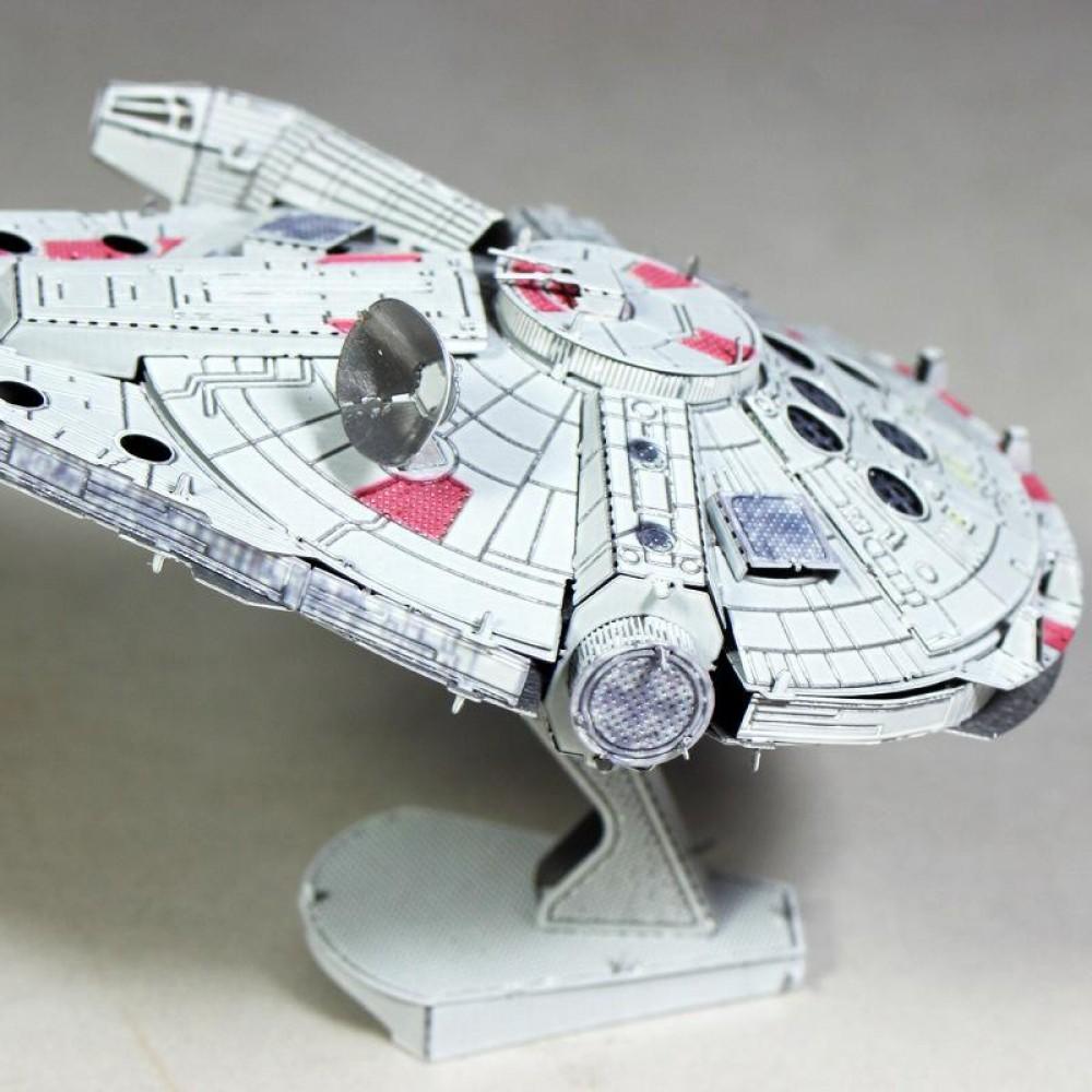 3D конструктор металлический MetalHead Star Wars Millennium Falcon KM072