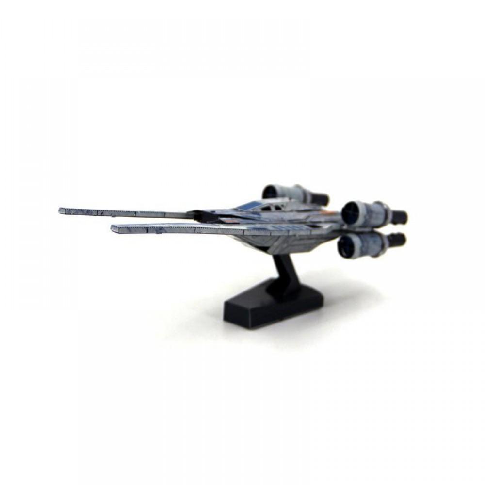 3D конструктор металлический MetalHead Star Wars U-Wing Fighter KM154