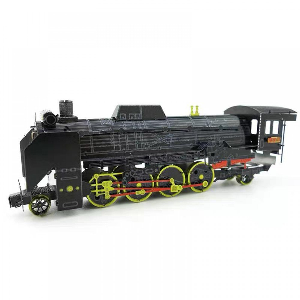 3D конструктор металлический MetalHead Steam Locomotive D51 KM049