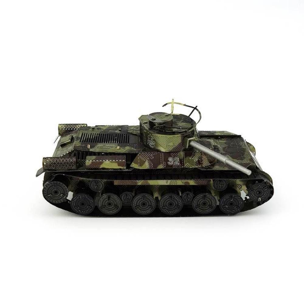 3D конструктор металлический MetalHead Tiger 1 Tank