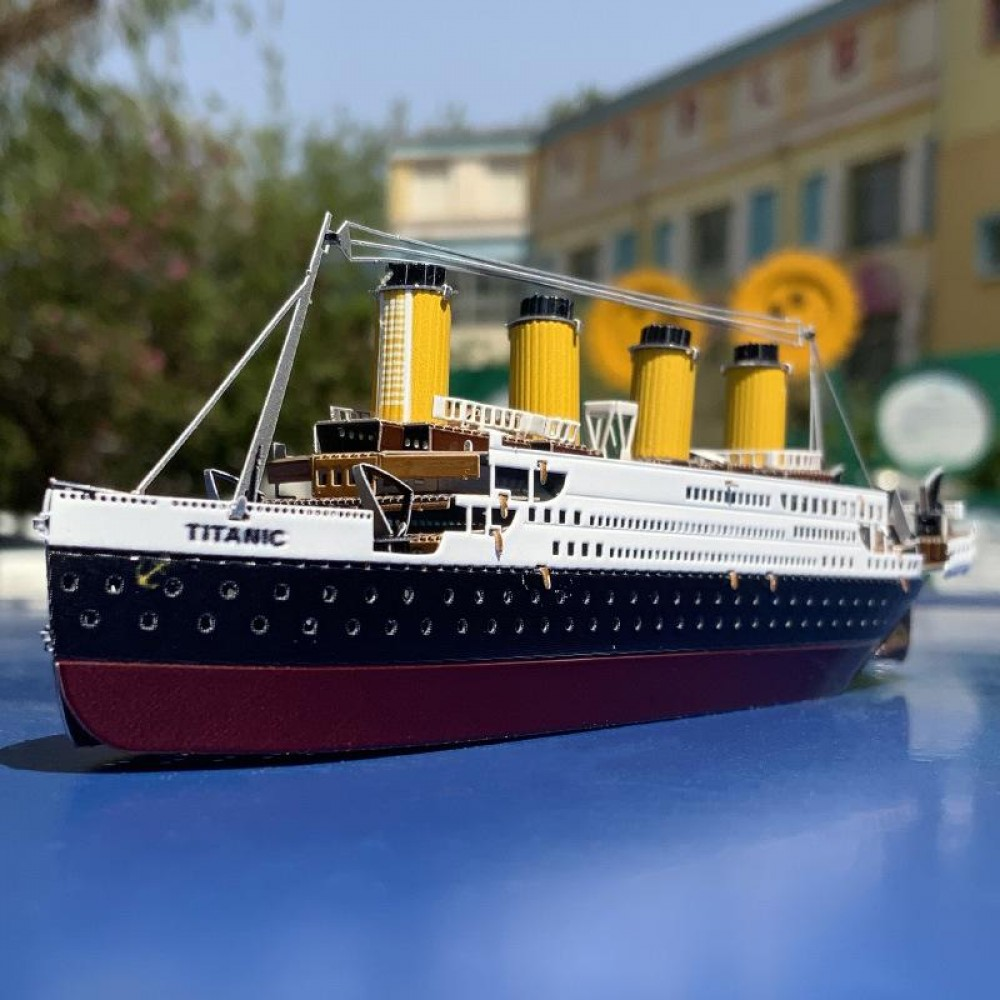 3D конструктор металлический MetalHead Titanic KM014