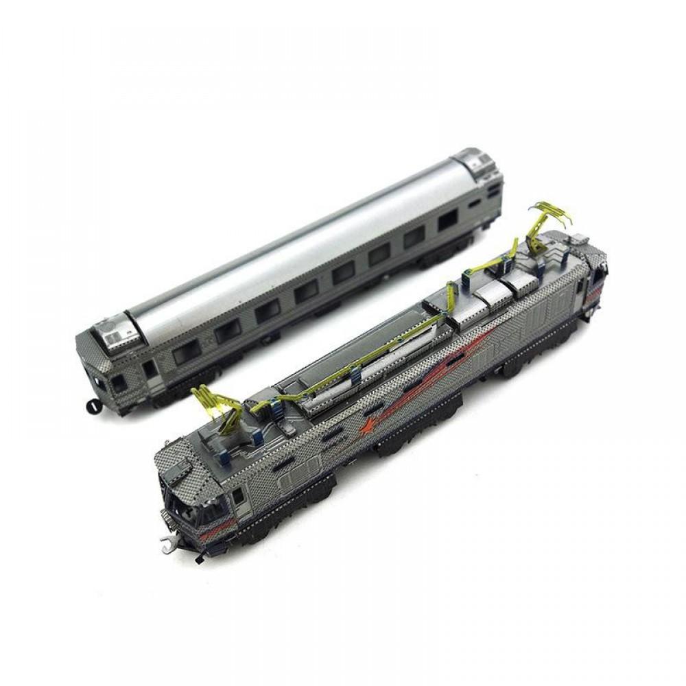3D конструктор металлический MetalHead Train EF510 KMS012