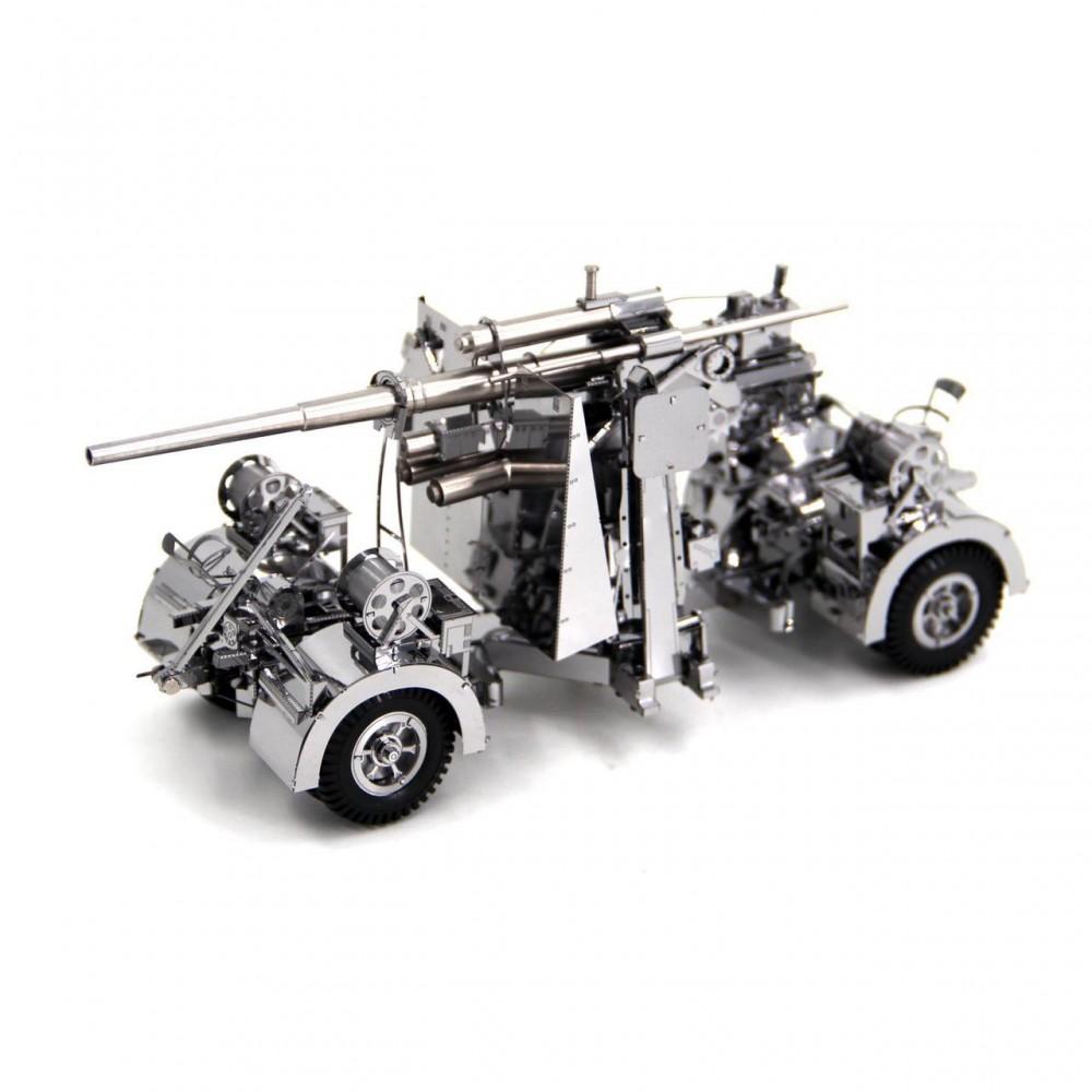 3D конструктор металлический Piececool 88-мм зенитная пушка