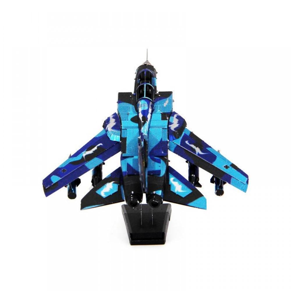 3D конструктор металлический Piececool Tornado Fighter Jet P-070S