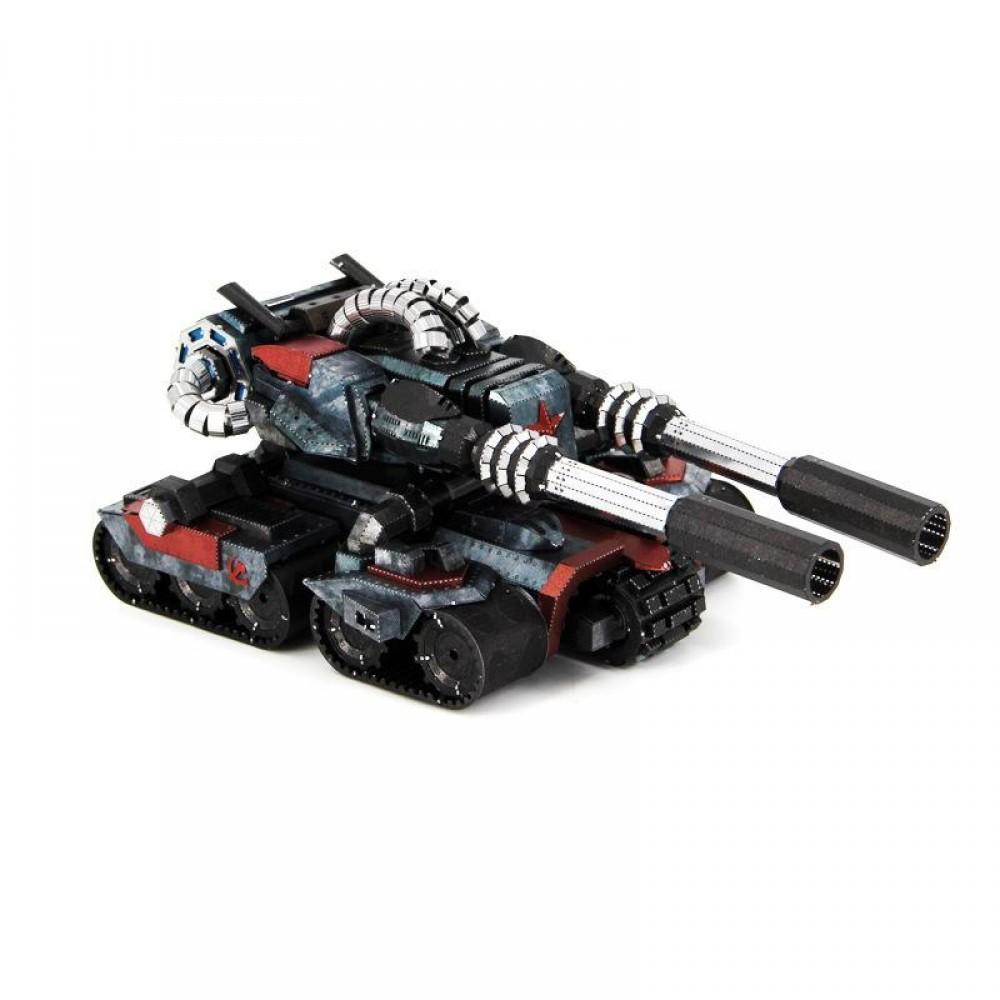 3D конструктор металлический Red Alert 3 Tank