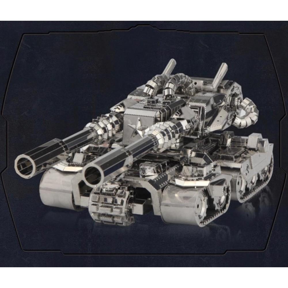 3D конструктор металлический Red Alert Apocalypse Tank