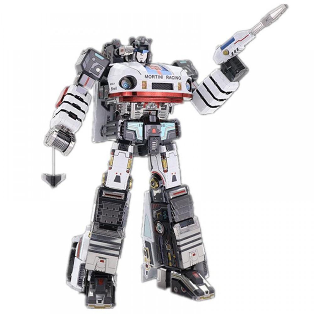 3D конструктор металлический Transformers G1 Jazz YM-L058-C