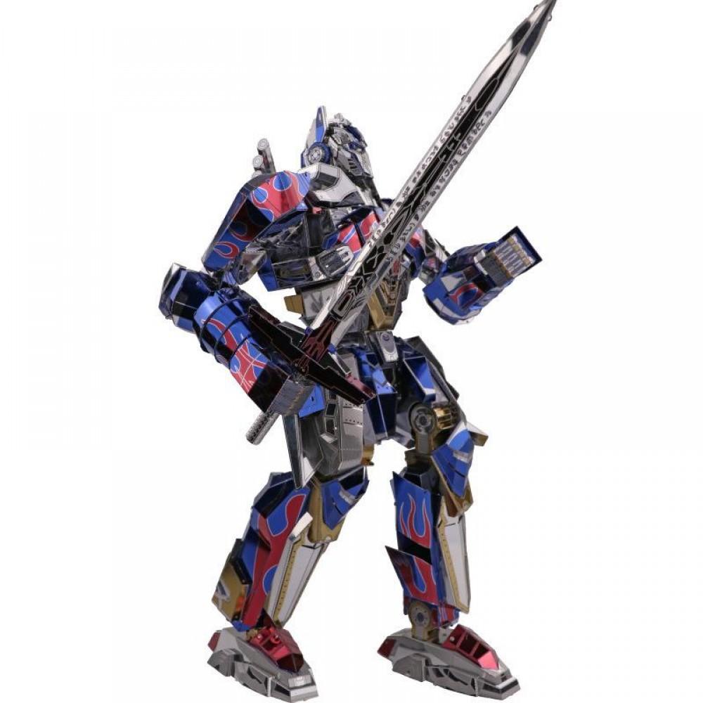 3D конструктор металлический Transformers G1 Optimus Prime YM-L040-C