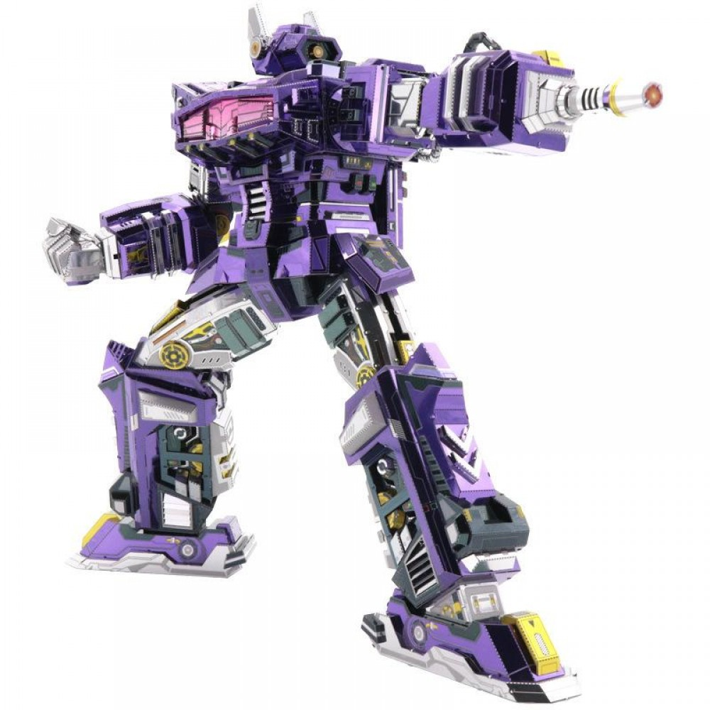 3D конструктор металлический Transformers G1 Shockwave YM-L059-C
