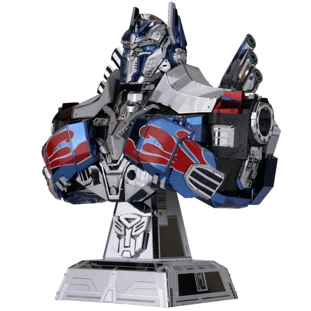 3D конструктор металлический Transformers The Last Knight Opnimus Prime YM-L037-C