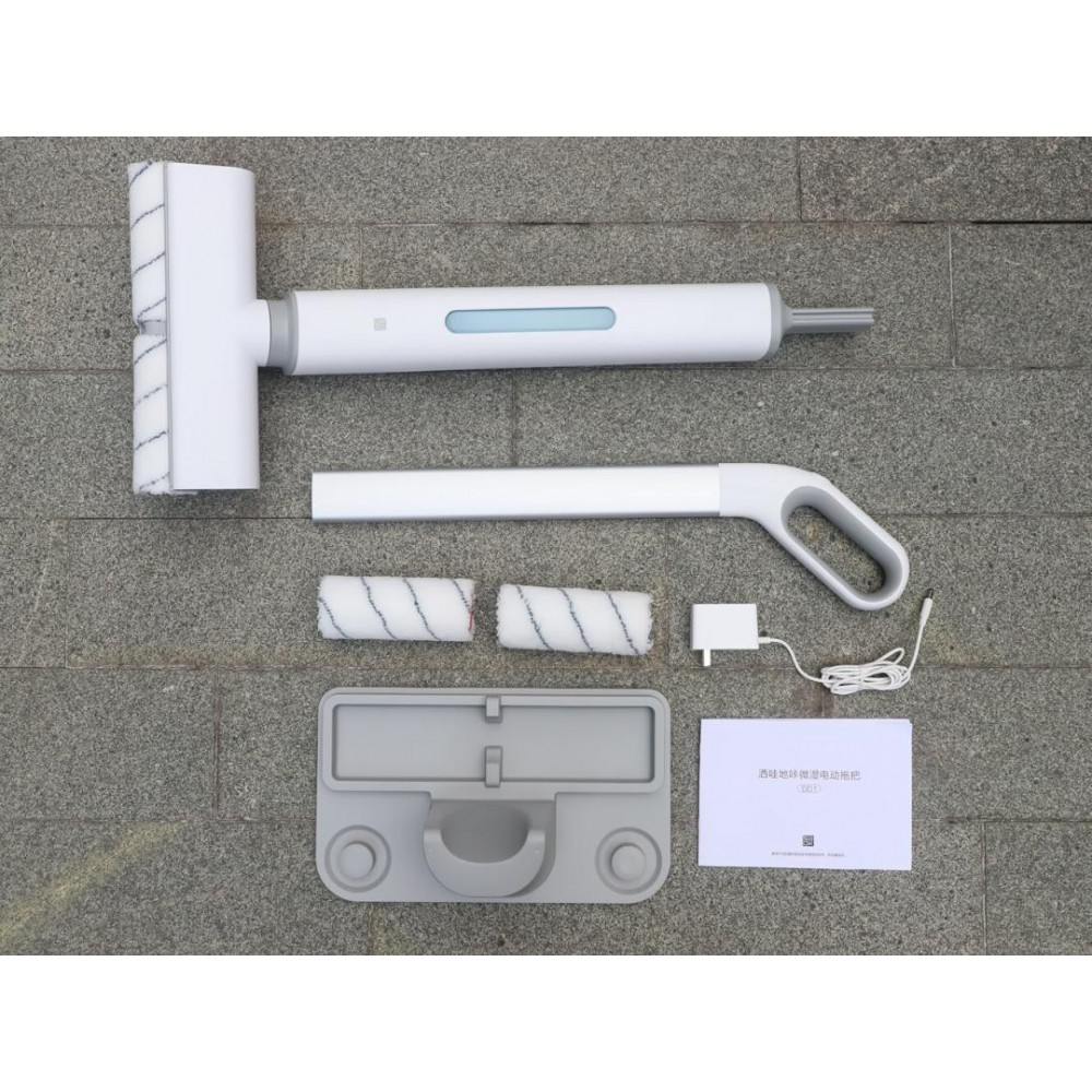 Беспроводная электрошвабра Xiaomi SWDK Wet Electric Mop White (DD1)