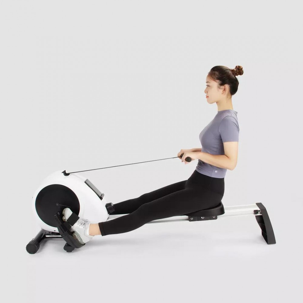 Гребной тренажер Xiaomi Magnetically Controlled Smart Rowing Machine Xiao Mo BASIC White (MRH3202A)