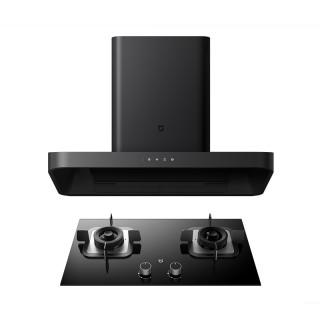 Комплект кухонной вытяжки и газовой плиты Xiaomi Mi Home Internet Smoke Cooker Kit Black (CXW-260-MJ01)