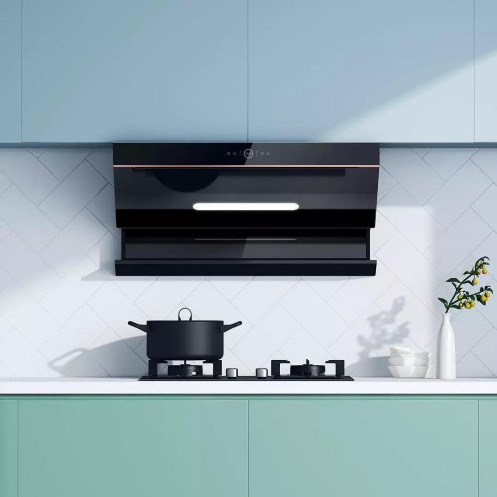 Комплект умной кухонной вытяжки и газовой плиты Xiaomi Viomi Yunmi Flash Pro Crossover