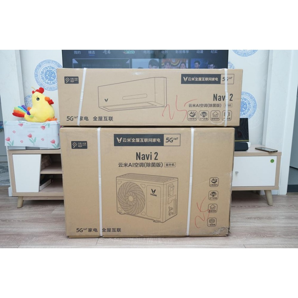 Кондиционер Xiaomi Viomi Air Conditioner Yunmi Navi2 (KFRd-35GW/Y3UM5-A1)